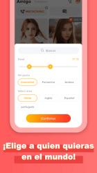 Imágen 7 de Amigo-Chat Rooms, Real Friends para android
