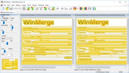 Captura 6 de WinMerge para windows