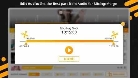 Screenshot 5 de Music Editor : Trim, Extract, Convert and Mix Audio para windows