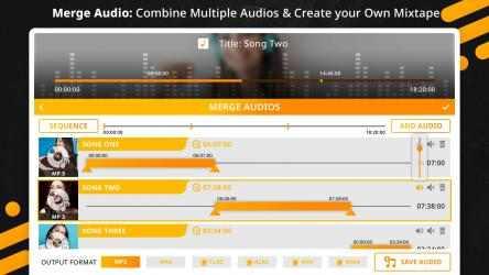 Captura de Pantalla 4 de Music Editor : Trim, Extract, Convert and Mix Audio para windows