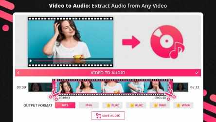 Captura de Pantalla 3 de Music Editor : Trim, Extract, Convert and Mix Audio para windows