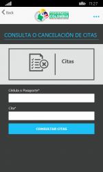 Captura 6 de Migración Colombia para windows