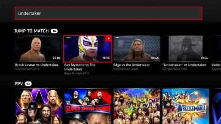 Captura de Pantalla 11 de WWE Network para windows