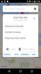 Screenshot 5 de Mis Horarios de Mareas Pro para android