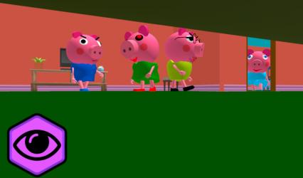 Imágen 10 de Piggy Neighbor. Family Escape Obby House 3D para android