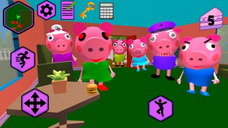 Imágen 3 de Piggy Neighbor. Family Escape Obby House 3D para android