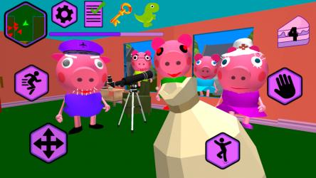 Imágen 5 de Piggy Neighbor. Family Escape Obby House 3D para android