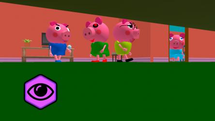 Captura 7 de Piggy Neighbor. Family Escape Obby House 3D para android