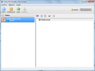 Screenshot 1 de Virtualbox para windows