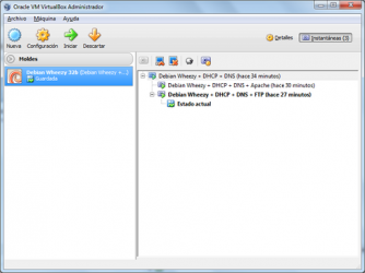 Captura de Pantalla 4 de Virtualbox para windows