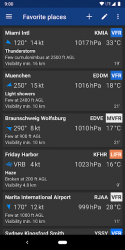 Screenshot 8 de Avia Weather - METAR & TAF para android