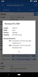 Imágen 9 de Avia Weather - METAR & TAF para android
