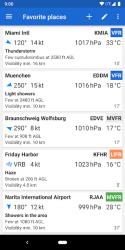 Captura de Pantalla 2 de Avia Weather - METAR & TAF para android