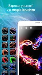 Screenshot 7 de Silk Paints - Drawing, Doodle & Sketch with Brush para android