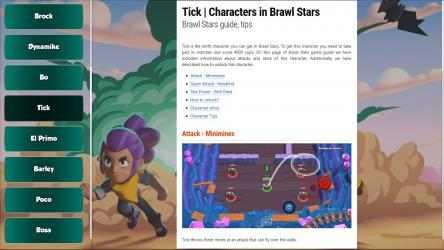 Captura de Pantalla 3 de Brawl Stars Guide App para windows
