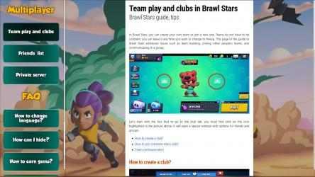 Captura 2 de Brawl Stars Guide App para windows