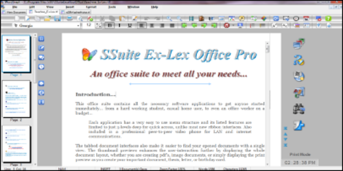 Captura de Pantalla 1 de Suite Ex-Lex Office Pro para windows