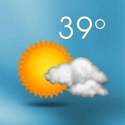Captura de Pantalla 1 de 3D Sense Clock & Weather para android