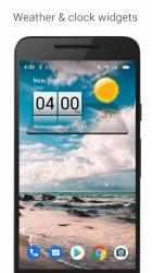 Imágen 2 de 3D Sense Clock & Weather para android