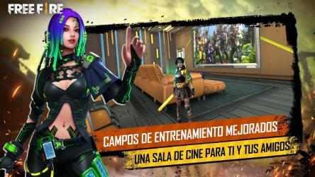 Captura de Pantalla 5 de Garena Free Fire: Día Booyah para android