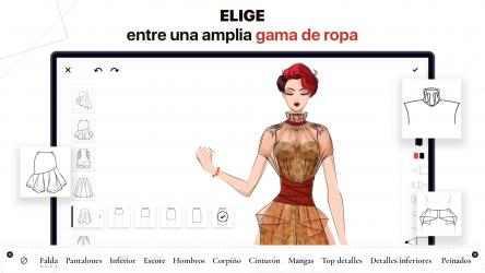 Captura 2 de Fashion Design - Diseñar Vestidos: dress up y make up ideas con ilustraciones de colores para modelos para windows