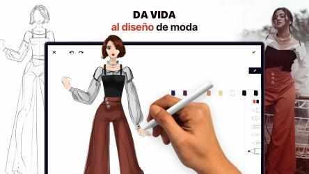 Imágen 1 de Fashion Design - Diseñar Vestidos: dress up y make up ideas con ilustraciones de colores para modelos para windows