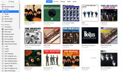 Screenshot 1 de iTunes para windows
