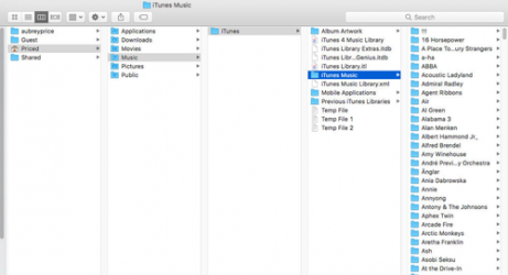 Captura de Pantalla 2 de iTunes para windows