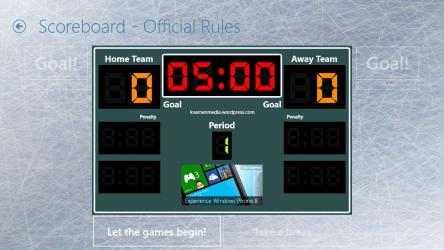 Captura de Pantalla 2 de Scoreboard for Table Hockey para windows