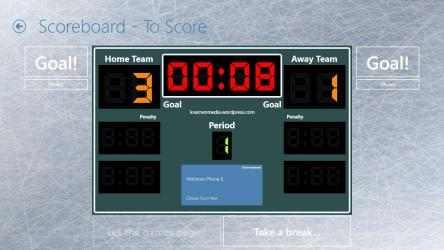 Captura de Pantalla 3 de Scoreboard for Table Hockey para windows