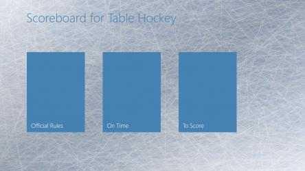 Screenshot 1 de Scoreboard for Table Hockey para windows