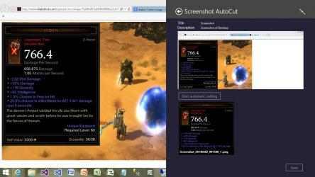 Captura de Pantalla 9 de Screenshot AutoCut para windows