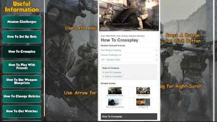 Captura 3 de Call of Duty Modern Warfare Game Guides para windows