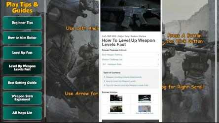 Captura 11 de Call of Duty Modern Warfare Game Guides para windows