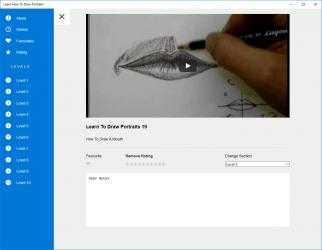 Captura 3 de Learn How To Draw Portraits para windows