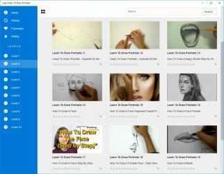 Screenshot 2 de Learn How To Draw Portraits para windows