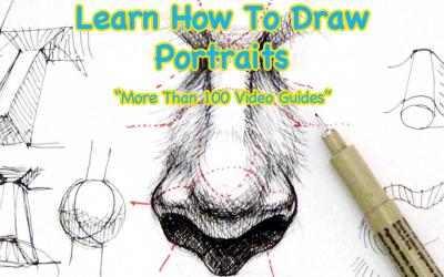 Screenshot 1 de Learn How To Draw Portraits para windows