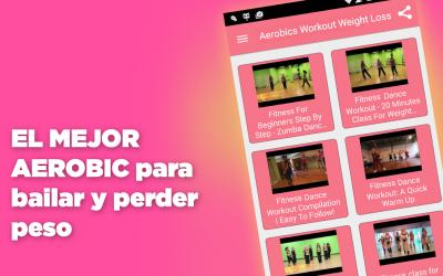 Captura de Pantalla 3 de Aerobic ejercicios para adelgazar bailando para android