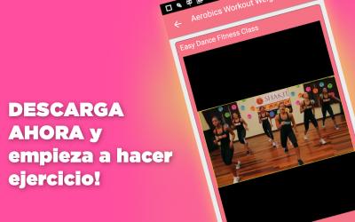 Imágen 5 de Aerobic ejercicios para adelgazar bailando para android