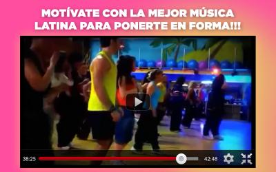 Screenshot 4 de Aerobic ejercicios para adelgazar bailando para android