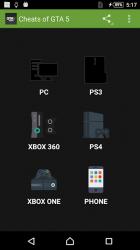 Screenshot 3 de Cheats for GTA 5 (PS4/Xbox/PC) para android