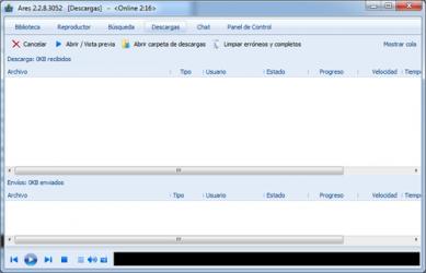 Captura de Pantalla 2 de Ares Galaxy para windows