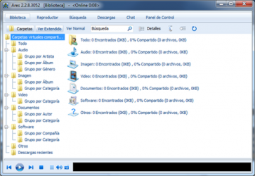 Screenshot 1 de Ares Galaxy para windows
