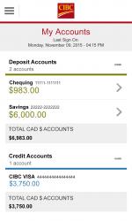 Captura de Pantalla 2 de CIBC Mobile Banking para windows