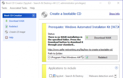 Captura 4 de Spybot search and destroy para windows