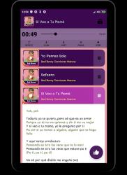 Captura de Pantalla 3 de Bad Bunny Música Sin internet 2020 para android