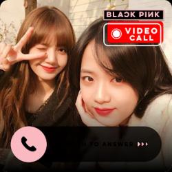 Captura de Pantalla 1 de Blackpink Call Me - Call With Blackpink Idol Prank para android