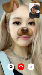 Captura 4 de Blackpink Call Me - Call With Blackpink Idol Prank para android
