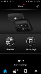 Captura de Pantalla 2 de Mercedes-Benz Dashcam para android