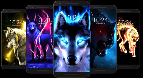 Captura 5 de Fondo de pantalla de lobo HD para android